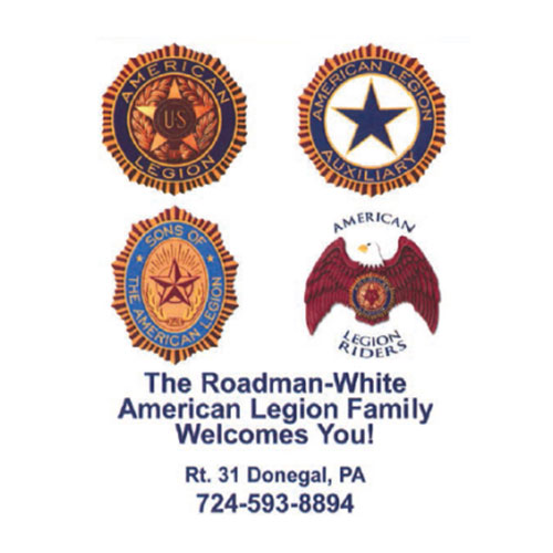 Roadman White American Legion