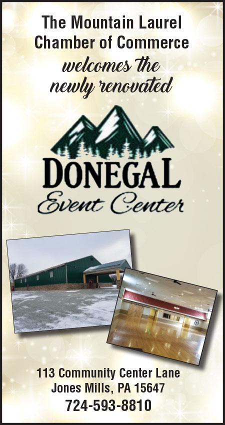 Newly renovated Donegal Event Center
