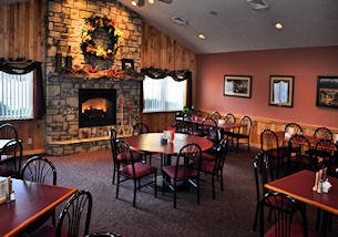Dining at Laurel Highlands restaurant Foggy Mountain
