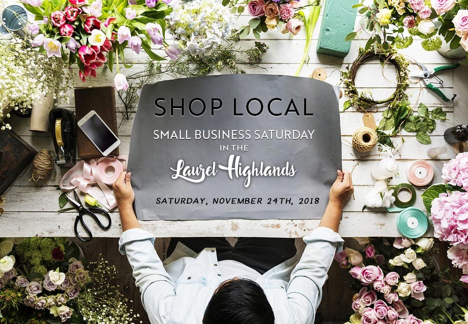 Small Business Saturday in the Laurel Highlands