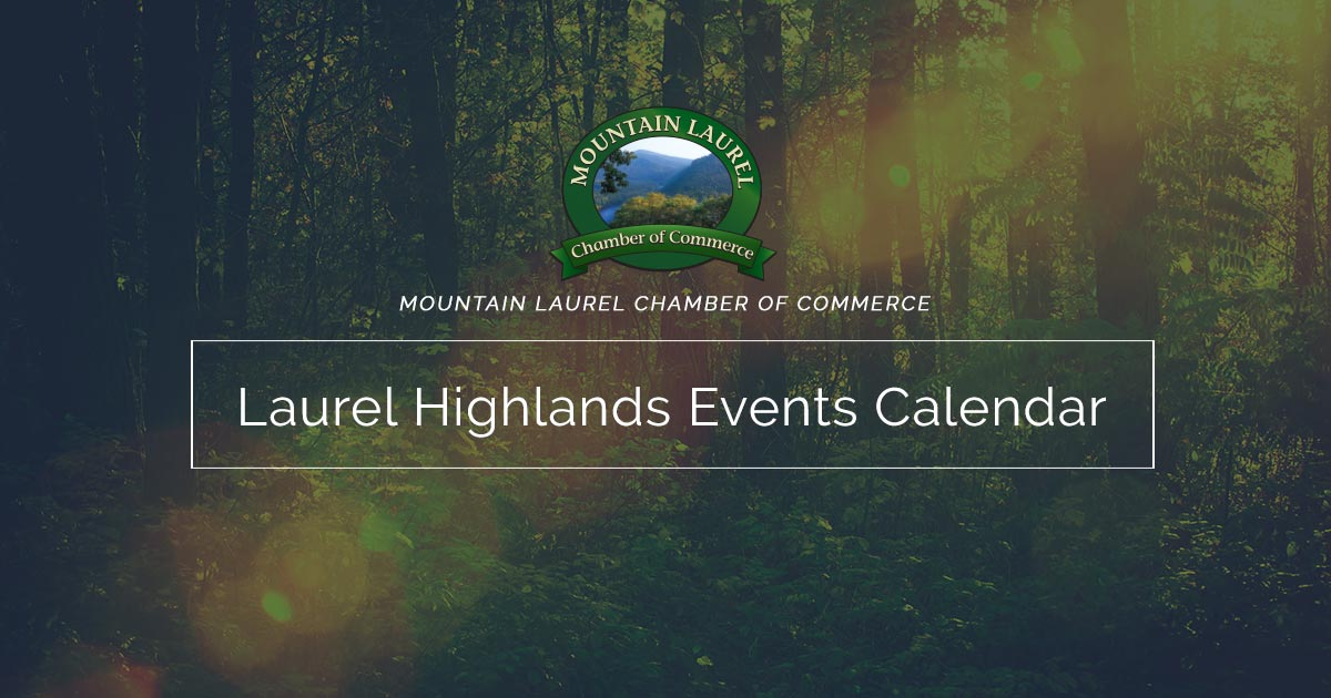 Local events in the Laurel Highlands