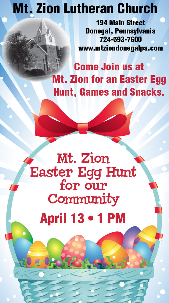 Mt Zion Easter Egg Hunt