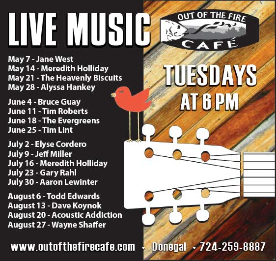 Out of the Fire Live Music Tuesdays